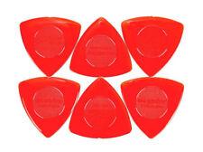 6 Médiators  Dunlop Tri stubby Large Triangle 1,5 mm