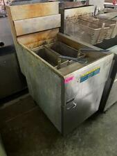 Pitco 65c Gas Deep Fryer With 2 Baskets