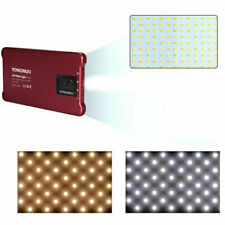 YONGNUO LED RED YN125 Pocket Light Panel 3200-5600K 4000mAh On Camera i phone