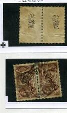 Great Britain Scott 179 Half Crown Stamp Pair Cancelled 4298E