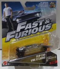MATTEL 1:55 FAST & FURIOUS FLIP CAR VIRE O CARRO 3/32 FCF38 / FCF35