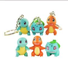 POKEMON Pikachu BULBASAUR CHARMANDER SQUIRTLE 4 FUNNY FIGURINA Toy arredamento regalo