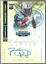 2014 Contenders Championship Ticket Bishop Sankey On Card Auto Rc # /49