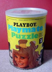 New 1967 Playboy Playmate of the Month Can Puzzle DEDE LIND Aug '67 Sealed w Pic