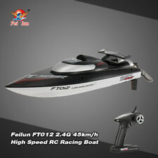 FT012 2.4G  RC Racing Boat Brushless 45km/HWith Self-Righting System T5Z8