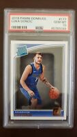 Luka Doncic 2018 Panini Donruss #177 RC PSA 10 Dallas Mavericks Rated Rookie