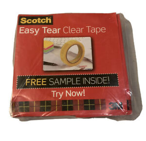 5 x Scotch sticky tape 25mm X 66M Christmas present gift wrapping tape packaging