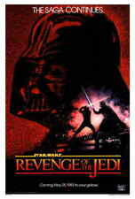 "NEW Star Wars: Episode VI REVENGE Of The Jedi (1983) Style-A 27x40"" Movie Poster"