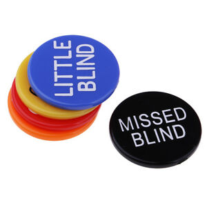 MagiDeal Adults Club Casino Game Dealer Buttons MISSED BLIND KILL RESERVED