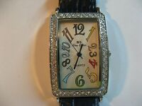 BLUE SISTER WOMAN'S QUARTZ WATCH/GREAT COND/KEEPS TIME/NEW BATT/JAPAN MOVT/NICE.