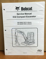 Heavy equipment manuals books for yanmar tractor ebay bobcat e32 compact excavator service manual shop repair book part 6987272 fandeluxe Choice Image
