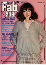 Fab 208 Magazine 11 February 1978      Paul Michael Glaser      Rosetta Stone