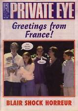 PRIVATE EYE 1009 - 25 Aug 2000 - Blair - Greetings From France!