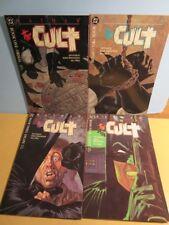 1988 BATMAN The CULT #1,2,3,4 SET NM Prestige Format TPB - Jim Starlin