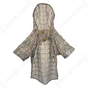 Multitarn Military Ghillie Sniper Hooded Cape - One Size - Hunting Paintball