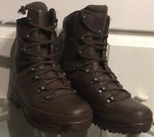 Haix Brown MTP Gore-Tex Waterproof Army Issue Wet Weather Hiking Boots 5M HX15M