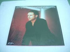 SIMPLY RED  / GREATEST HITS - THE VIDEOS  Europe Laserdisc Pal version
