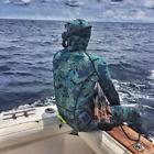 Camo Deep Blue 1.5MM  2-Piece Long Sleeve Wetsuit