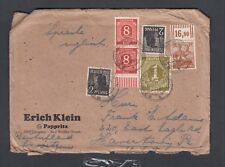 Germany 1947 Cover Dresden To Havertown Pennsylvania Usa