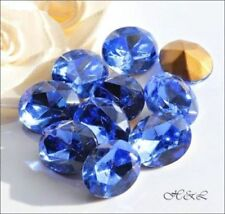 Oval Faceted Crystal Jewellery Making Beads