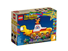 LEGO Ideas 21306 The Beatles Yellow Submarine - U-Boot NEU NEW