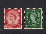GB 2002 sg2258 & 2259 Wilding Definitive booklet stamps set MNH
