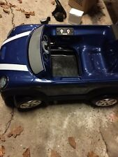 Child's  Brand New Mini Cooper S  6v Blue Childrens Electric Ride on Toy Car.