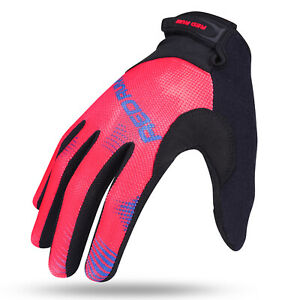 REDRUM Women Cycling Gloves Ladies Bike Bicycle MTB Riding Dirt bike