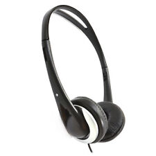 6m Stereo/Mono Super Bass Sound Cushioned TV Headphones - Long Cable [008117]