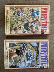 Fairy Tail Volume 1 & 2 Manga