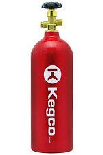 New Kegco 5 lb. Red Aluminum Co2 Tank Kegerator Draft Beer Homebrew Aquarium