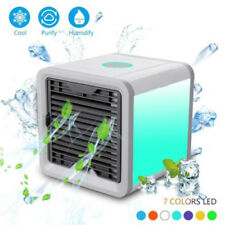 Mini Air Cooler Conditioner Evaporator USB Desktop Rechargeable Fan Professional