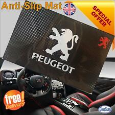 PEUGEOT CAR DASHBOARD NON SLIP GRIP DASH MAT ANTI SLIDE PHONE KEY COINS STICKY7