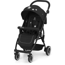 Kiddy Urban Star Stroller 1 Lightweight Compact Buggy Pram - Mystic Black
