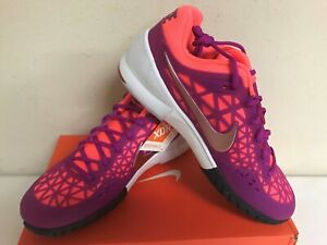 Nike Women's Zoom Cage 2 Tennis Shoe Style #705260 581