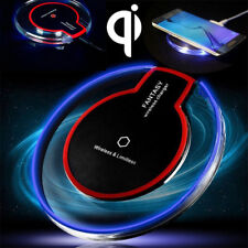 Qi Fast Wireless Charger&Charging Pad for iPhone X/8/8 Plus&Galaxy S9/S8 BLACK