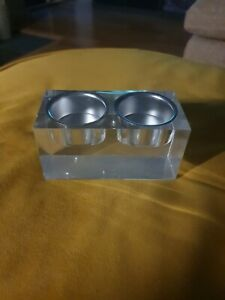 Tea light candle holder set - unused, original packaging