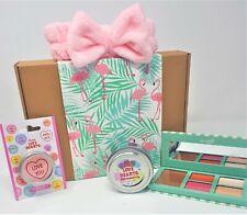 Flamingo Gift Box Make Up Set Beauty Pamper Hamper - For Her / Girls / Women's