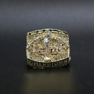 Kurt Warner - 1999 Los Angeles Rams Super Bowl Championship Ring WITH Wooden Box