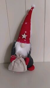 Christmas santa with red hat decoration, new