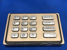 Nautilus Hyosung Atm Machine Gray Keypad Epp 5000k For Parts Or Not Working