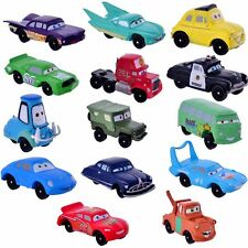 "Disney Cars (Set Of 14) 2"" Birthday Cake Topper Figurines Toy Set"