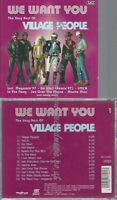 CD--THE VILLAGE PEOPLE--WE WANT YOU: THE VERY BEST OF THE VILLAGE PEOPLE