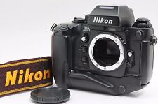 [Excellent+++++] Nikon F4S 35mm Film Camera w/ MB-21, DP-20 from Japan ac29690