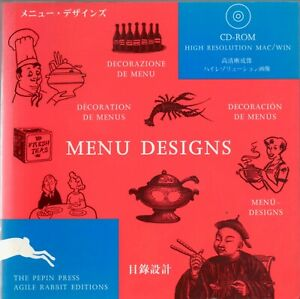 Menu Designs Pictures (Agile Rabbit Editions) with CD-ROM