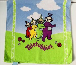Vintage Teletubbies TV Beach Towel 1998 Tinky Winky Dipsy Laa-Laa Po Jay Franco