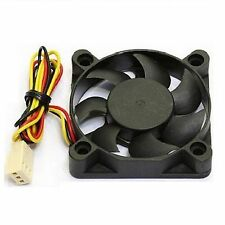 PC Computer CPU Case System Cooling Fan Cooler 50mm 3Pin 50x50x10mm 5cm Silent