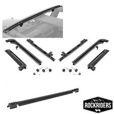 2007-2017 Jeep Wrangler Unlimited Frameless Soft Top Metal Hardware Kit Only