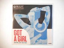 GOT A GIRL : DID WE LIVE TOO FAST ( EDIT VERSION ) ♦ CD SINGLE PORT GRATUIT ♦