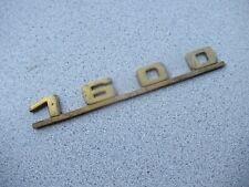 Porsche 356 Emblem 1600      #45   Bag #8    C#106